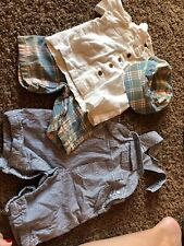 Gap Boys Short Lot O-3 Month And 3-6 Washed Never Worn