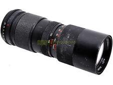 Vivitar Tele Zoom 85/205mm f3,8, innesto a vite M42. Utilizzabile su digitali