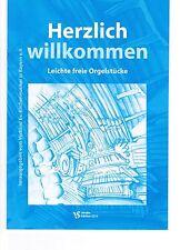 Kirchenorgel Orgel Noten : Herzlich Willkommen leicht - leM (freie Orgelstücke)
