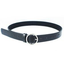 fashion Women Girls Belts Leather Round Metal Pin Buckle Waist Belt Waistband EY