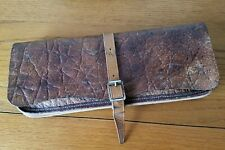 Leather and canvas rig wallet.. VGC.
