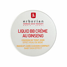 Erborian LIQUID BB CRÈME AU GINSENG CUSHION COMPACT CLAIR Makeup Korean Cosmetic