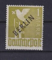 Berlin 17 a X 1 Mark Schwarzaufdruck Aufdruckfehler Befund HD Schlegel (bt171)