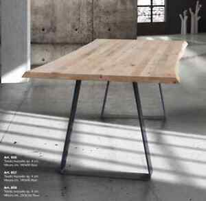 Table Fixed IN Solid Wood Legs Triangle Of Various Thicknesses And Measures