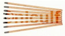 Kohleelektroden 9,5 x 305 spitz pointed bis 600A verkupfert für Fugenhobler