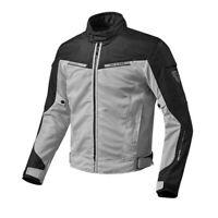 New Rev'It Airwave 2 Jacket Men's Medium Silver/Black #FJT2014050M