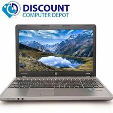 "HP Laptop ProBook 4540s 15"" Computer i3 8GB 500GB HD Wifi Bluetooth Windows 10"