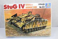 mb1206, RAR Alter Italeri 223 StuG Sturmgeschütz IV mint BOX 1:35 Bausatz Kit