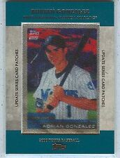 2013 Topps Adrian Gonzalez Manufactured Patch TRCP-6 Marlins