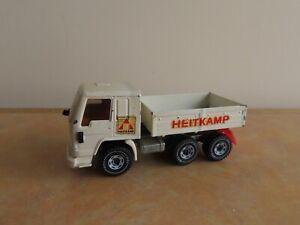 """Vintage Siku Volvo FL10 Intercooler """"Heitkamp"""" Lorry Diecast Model, Incomplete"""