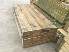 Treated Pine H4 Sleepers 200x50 1.8m Retaining Wall Garden Bed Boxing Sand Pits