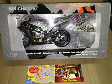 1:12 MINICHAMPS YAMAHA 2007 VALENCIA VALENTINO ROSSI NEW SEALED IN BOX VERY RARE