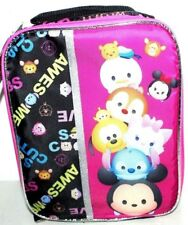 DISNEY TSUM TSUM INSULATED LUNCH BAG KIT GIRLS
