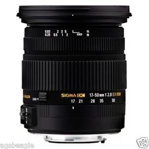 Sigma 17-50MM F2.8 EX DC OS HSM Lens Nikon Brand New With Shop Agsbeagle