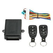 Car Door Central Lock Keyless Entry Locking System Box Kit & 2 Remotes N1R9