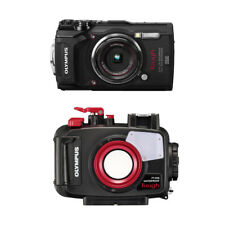 Olympus PT-058 Underwater Housing AND Olympus TG-5 Camera