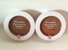 Two Neutrogena SkinClearing Mineral Powder, Chestnut 135 New
