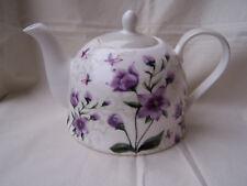 Teekanne aus Brilliantporzellan  * Blume lila *  ORIGINAL Jameson & Tailor