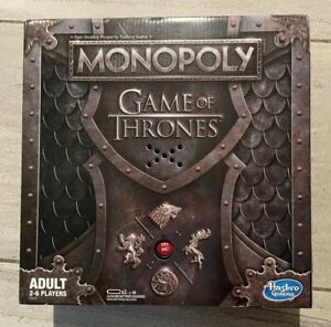 Hasbro Monopoly - Game of Thrones (unopened) with Theme Song