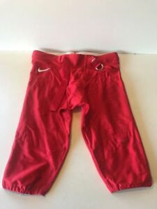 Slightly Used Football Game Pants NIKE  Red/Grey Size Extra Large