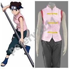 Naruto Tenten 1st Cosplay Costume Halloween Anime