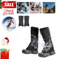 Waterproof Outdoor Climbing Hiking Snow Ski Shoe Leg Legging Cover Boot Gaiters