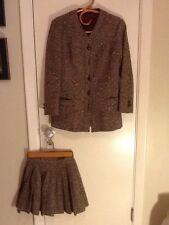 Vintage 1960'S Saks Fifth Avenue  Wool Jacket And Mini Skirt  Size 5