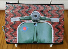 Donna Pochette Scooter/Wallet, Mod Scooter BORSA, Classic Borsa Vintage Scooter