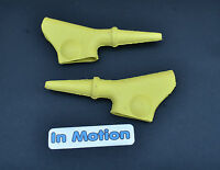 Amal Style YELLOW Rubber Lever Covers Trials Twinshock Ossa Montesa Bultaco