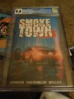 Smoke Town 1 Comic!!!! CGC 9.6 Scout Comics!!!!   SMOKETOWN