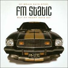 FM Static-My Brain Says Stop But My Head Says Go CD Christian Rock/Alt. (NEW)