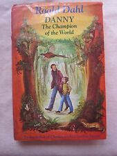 Old Book Danny The Champion of the World by Roald Dahl 1975 1st 1st DJ GC