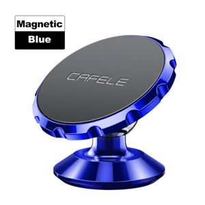 Magnetic Car Cell Phone Holder Mount Dashboard Stand 360 Rotation for Phone GPS