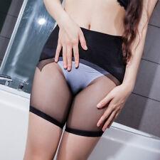 Men Women Seamless Sexy Panties Sheer Low Cut See Through Boxer Shorts Underwear