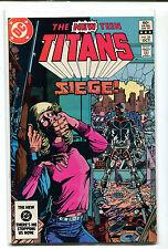 The New Teen Titans Siege #35 Nm Dc Comics Cbx1N