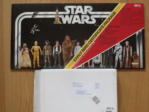 Star Wars Early Bird Figure Set and Certificate Package 2005