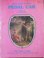 PRE 1900 - 1980 PEDAL CAR RIDING TOY VALUE GUIDE COLLECTOR'S BOOK Sled Tricycle