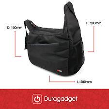 Qualité Premium Noir Cartable/Messenger Sac pour Leupold Rogue 10x50 Jumelles