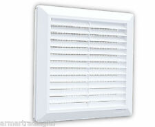 Air Vent Grille 200mm x 200mm Pull Cord Shutter Ducting Ventilation Cover H02700