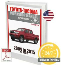 Toyota Tacoma Workshop Service Repair Manual 2004-2015