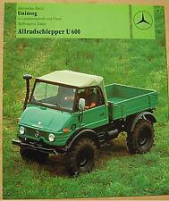 Altes Blechschild Oldtimer Unimog Allrad Schlepper Werbung gebraucht used