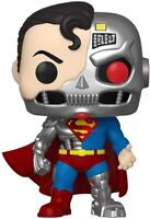 Funko Pop! Heroes Cyborg Superman #346 + Pop Protector
