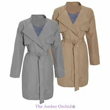 Women's Polyester Double Breasted Trench Coats, Macs Coats & Jackets