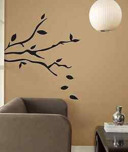 Tree Branches Peel Stick Wall Decals Easy Remove Decorative Stickers Room Decor