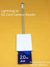 8-pin Lightning to SD Card Camera Reader Adapter for iPad air/pro/mini iPhone