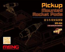 Meng SPS-034 1/35 Resin Pickup Mounted Rocket Pods