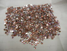 144 swarovski xirius rose hot-fix flatbacks,20ss crystal AB/foiled #2078