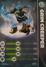 Grim Creeper Skylanders Swap Force Stat Card Only!