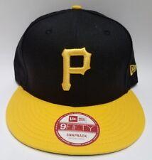 New Era Pittsburgh Pirates 2Tone MLB Basic Cooperstown 9fifty Snapback Black Hat