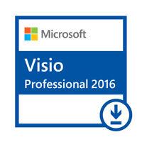 Microsoft Visio 2016 Professional Vollversion/Full version 32/64BIT Lizenz